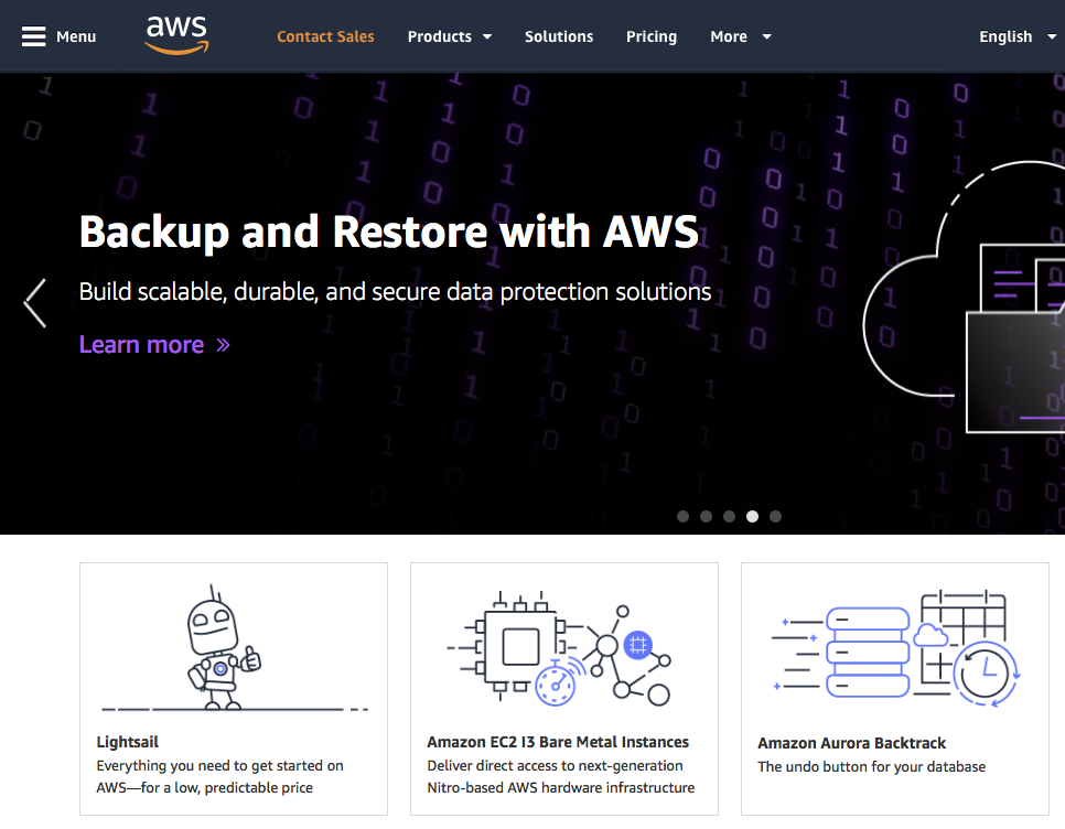 Fully Migrated Onto Amazon Web Services